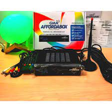 GMA Affordabox Digital TV Receiver with HDMI Cable TV Box (On-Hand and  Ready to Ship! Fast Shipout!)