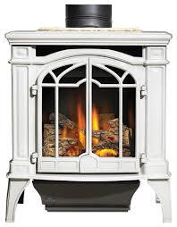 bayfield porcelain freestanding gas stove white modern freestanding stoves