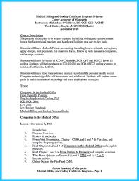 Medical Billing Job Description For Resume Itacams 8fb7970e4501