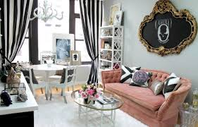 striped sofas living room furniture. palepinksofaandstripedcurtains striped sofas living room furniture