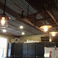 awesome corrugated tin ceiling 5 corrugated tin ceiling kitchen