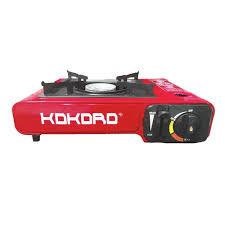 Bếp gas du lịch mini cao cấp Kokoro - Hàng chính hãng, tiết kiệm gas (thân  sơn tĩnh điện màu đỏ) - Bếp gas du lịch - bếp gas đơn