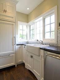 Top Mount Apron Front Sink Inside Farmhouse Inspirations 8 Houzz Kitchen  Sinks .