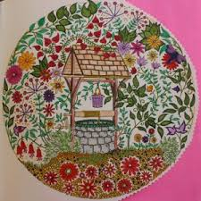 secret garden coloring book my leaves and flowers jardim secreto you coloring artist grade colored pencils with best