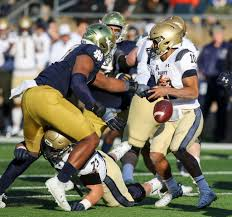 2012 Notre Dame Football Depth Chart Hansen Best Part Of Notre Dames 52 20 Rout Of Navy Is That