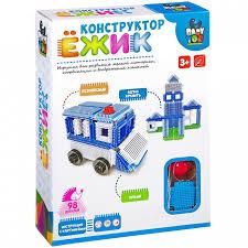 <b>Bondibon Ежик Машина</b> и <b>станция</b> (98 деталей) - Акушерство.Ru