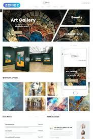 X Gallery Template Free Website Templates In Format Art Download