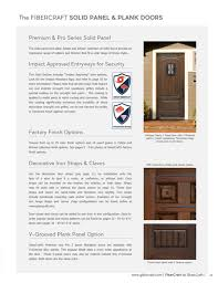 the fibercraft solid panel plank doors premium pro series solid panel the solid panel