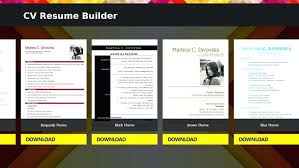 free resume builder software cv resume builder download resume
