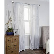 lighting marvelous white sheer curtains 96 26 white sheer curtains