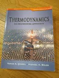 Thermodynamics An Engineering Approach 7th Edition   Textbooks ...