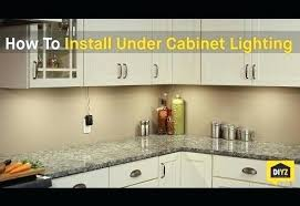 installing under cabinet led lighting. Installing Under Cabinet Led Lighting How To Install Inviting And 0