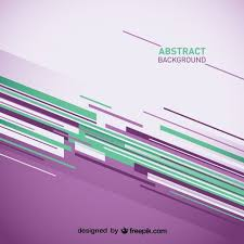 Abstract Background With Purple And Green Stripes Vector