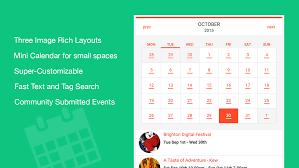 Calendar Templates For Websites Tockify Calendar The Modern Attractive Website Calendar