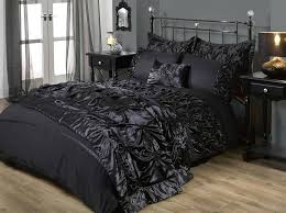 gothic bed sheets chic bed set in black alchemy gothic bed sheets
