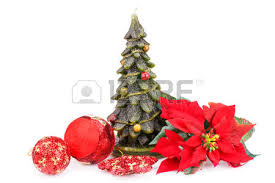 fir tree candle balls and holly berry flower isolated on white background stock photo pine candle w68