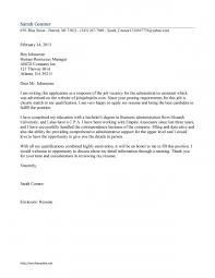 What To Put On A Cover Letter Resume Samples