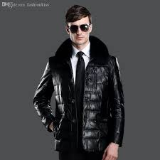2019 fall men s leather jacket 2016 warm winter male pu leather jacket fox fur collar mens leather jackets and coats plus size 3xl hj276 from fashionkiss