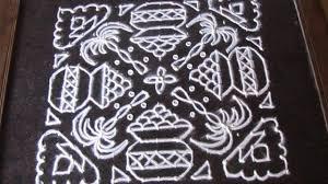 Bhogi Muggulu Designs With Dots Sankranthi Bhogi Kundala Muggulu Design With 17 17 Straight