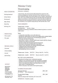 Another word for resume housekeeper splendid pictures dayjob