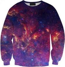 Crimson Space pullover sweater by Lollipopninja on Etsy | clouse ...