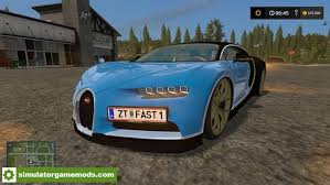 Bugatti boss stephen winkelmann recently suggested that this was on hold, likely pending an internal volkswagen financial review, so this is the least probable explanation. Fs17 Bugatti Chiron V1 Simulator Games Mods