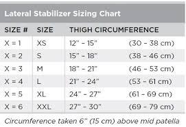 Breg Knee Brace Size Chart Lateral Patella Stabilizer Airmesh Patellofemoral Breg Knee Brace