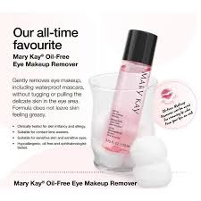 mary kay oil free eye makeup remover 110ml health beauty skin bath body on carousell