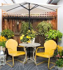 Image Wrought Iron Painted Metal Lawn Chairs just Like Grandma And Granddads Outdoor Seating Remain Sentimental Favorites That Blast Us Back To Gentler Times Pinterest Vintage Outdoor Living Ideas Pretty Patios Porches And Pergolas