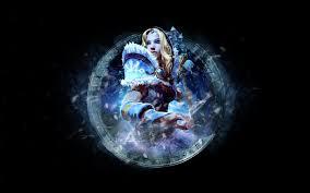dota 2 wallpaper crystal maiden by aspinlul on deviantart