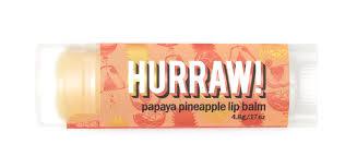 Hurraw! Натуральный <b>бальзам для губ</b> Папая Ананас,Papaya ...