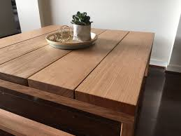 ... Image Of PLANK   Coffee Table ...
