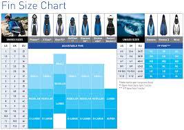 Aqualung Fins Size Chart Aqua Lung Shot Fx Adjustable Strap Fins With Spring Straps