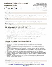 Resumes For Customer Service Jobs Customer Service Call Center Representative Resume Samples