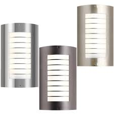 modern outdoor post lights sconces up down wall exterior