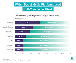 Commerce Chart Which Social Media Platforms Are Most E Commerce Friendly