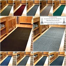 long runner rugs for hallway non slip mat cut to any length per foot custom extra