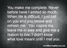 You Complete Me Quotes Enchanting I Love You Quotes For Him 48 You Complete Me Love Quotes For Him