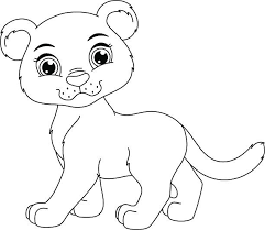 Small Picture Mountain Lion Cubs Clip Art Vector Images Illustrations iStock
