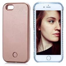 Light Up Selfie Phone Case Iphone 5c Fullopto Iphone 5 5s Led Light Case Selfie Led Phone Case With Rechargeable Illuminated Light Light Rose Gold