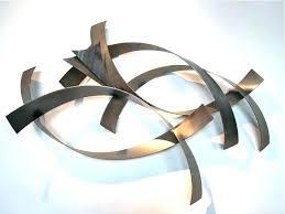 abstract metal wall art. Curtis Jere Wall Art Metro Modern Abstract Metal Sculpture .
