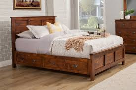 How to Make Rustic King Storage Bed