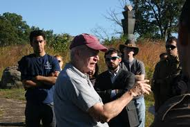photo essay gettysburg staff ride sais dc dr keaney explains the importance and role of artillery for both the union and confederacy