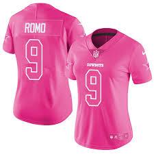 Tony Tony Women Jersey Romo Romo|Joe Montana After The NFL