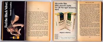 essay about cigarette advertisements in paperback books   the new  quest for the consumer advertising inserted into a  science fiction paperback by a e van vogt credit lars klove for the new york times