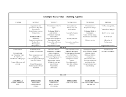 Sample Training Agenda Training Agenda Sample Resume Template Sample 1