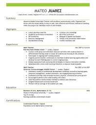 Online Teaching Resume Examples Best Of Teache Customer Service Resume Examples Teacher Resume Example