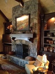 Natural Stone Fireplace Interior Stone Fireplace Design Charlotte Nc Masters Stone Group