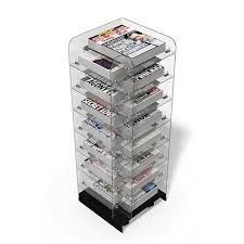 Newspaper Display Stands Custom Newspaper Stands Criss Cross Newstower Newspaper Stands