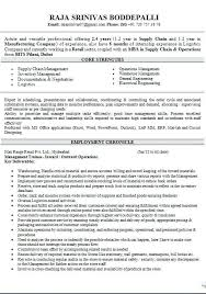 Sample Logistics Management Resume Logistics Resume Samples ...